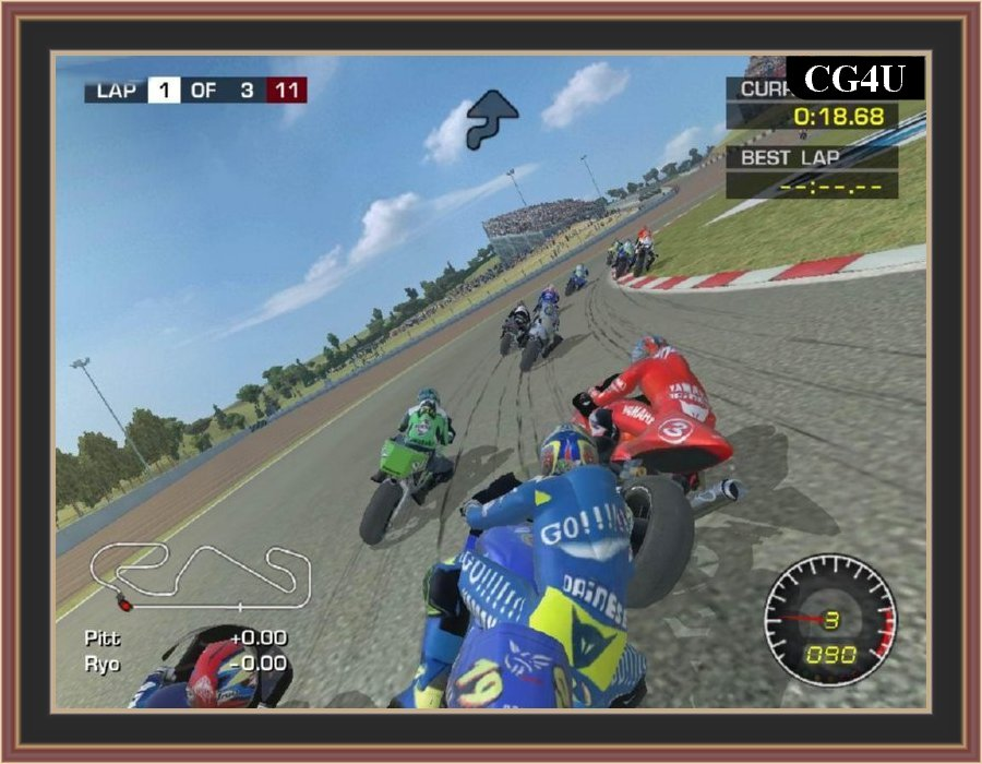 Moto GP 2 Ultimate Racing Technology Pc Game - ScreenShots