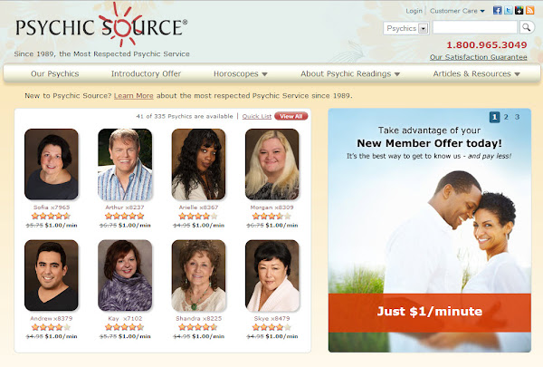 PsychicSource.com Psychic Network