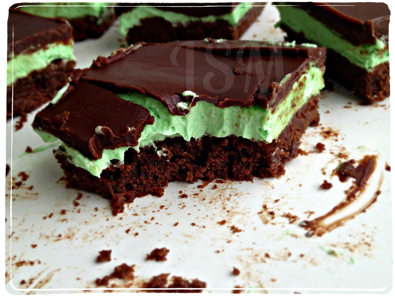 Life's Simple Measures: Secret Recipe Club: Grasshopper Bars