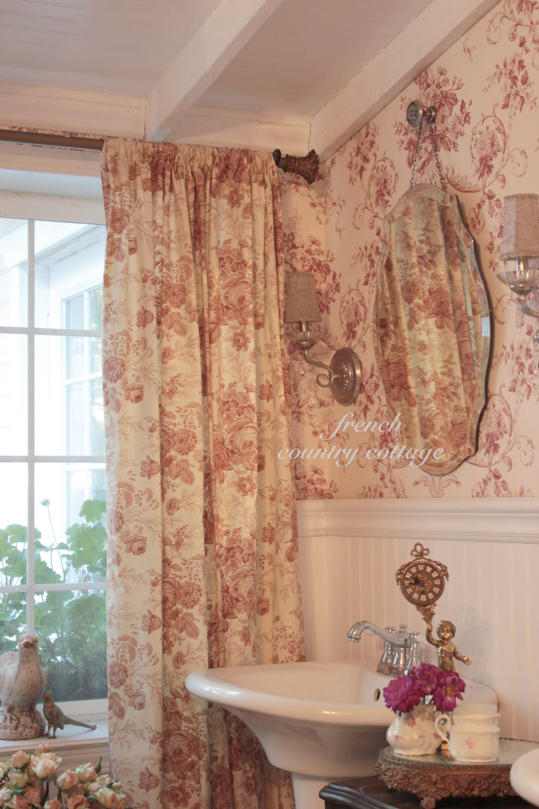 French Cottage Toile French Country Cottage