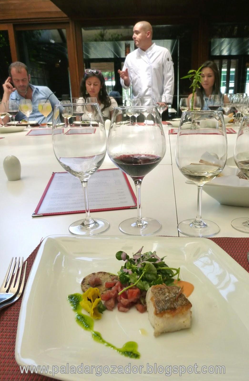 restaurant cumaru chef merluza austral