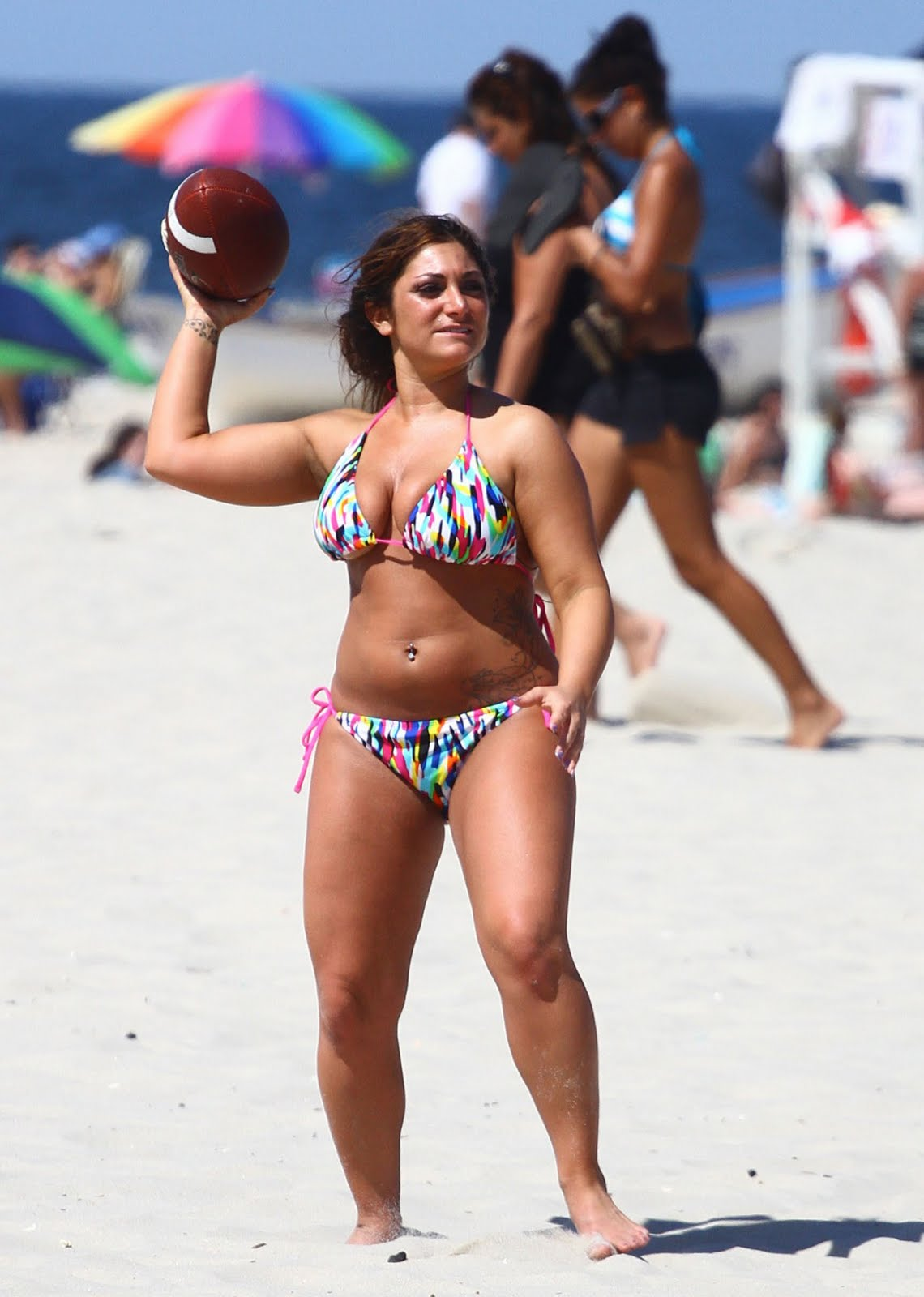 Jersey Shore's Deena Cortese in a bikini