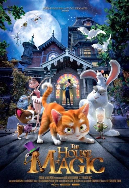 Phim Hoạt Hình Căn Nhà Phép Thuật - The House Of Magic - 2013