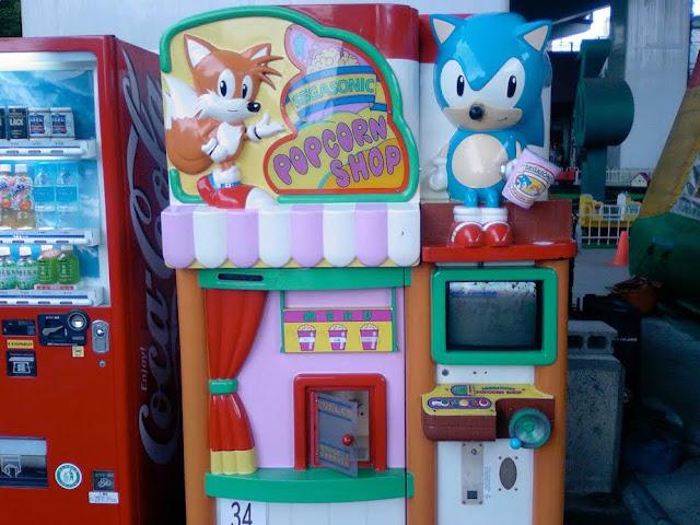 Palomitas de maíz con Sonic The Hedgehog Popcorn Machine... ¿En MAME?