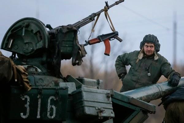 13 tentara Ukraina tewas saat mundur dari Debaltseve