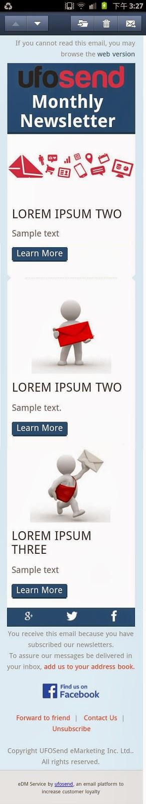 響應式電郵設計 Responsive email design
