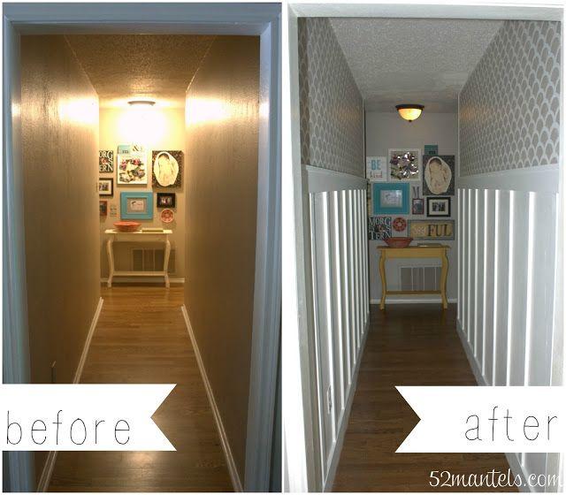 Marta decoycina como decorar pasillos largos - Fotos de pasillos largos y estrechos ...