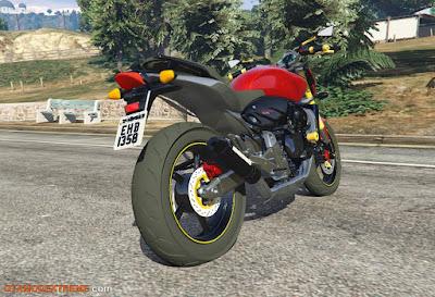 Baixar moto Honda CB600F Hornet 2010 Para GTA V
