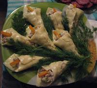 каллы из сыра закуска