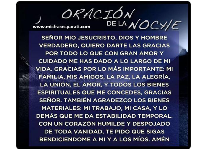 Oraciones,