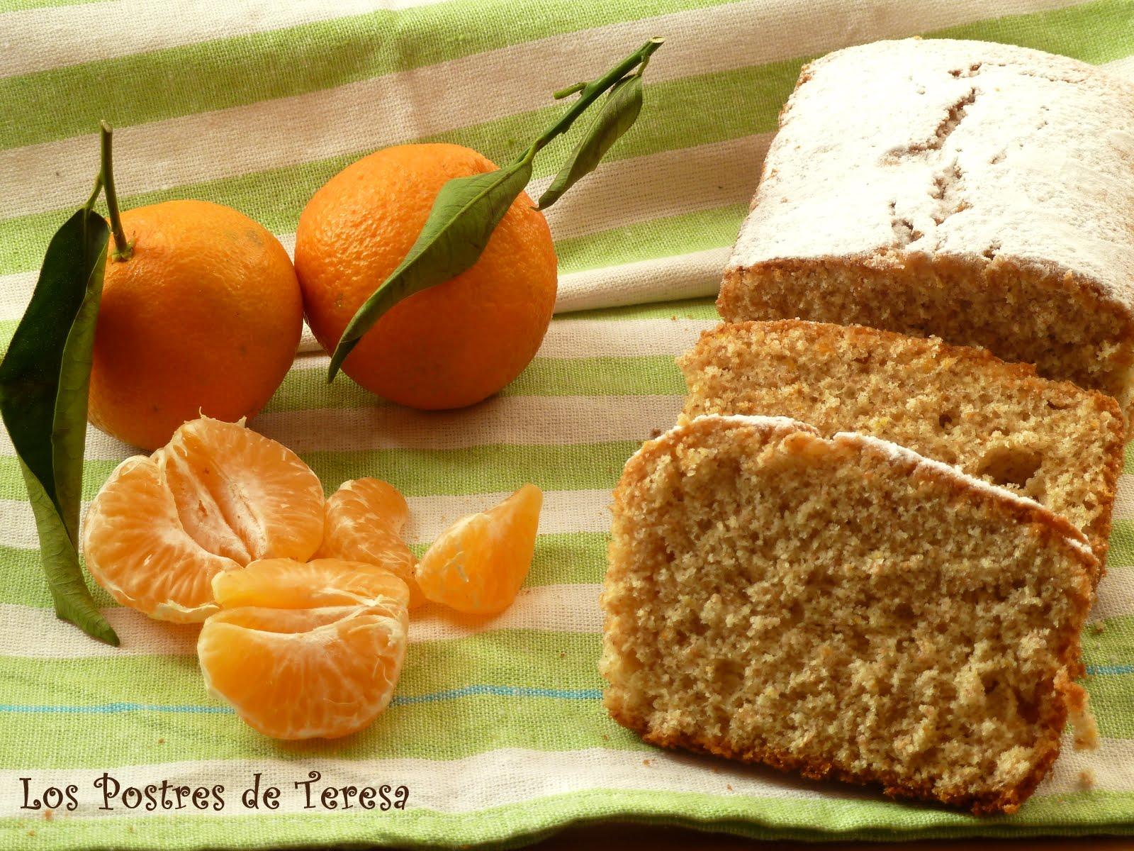 Los postres de teresa bizcocho integral de mandarina - Postre con mandarinas ...