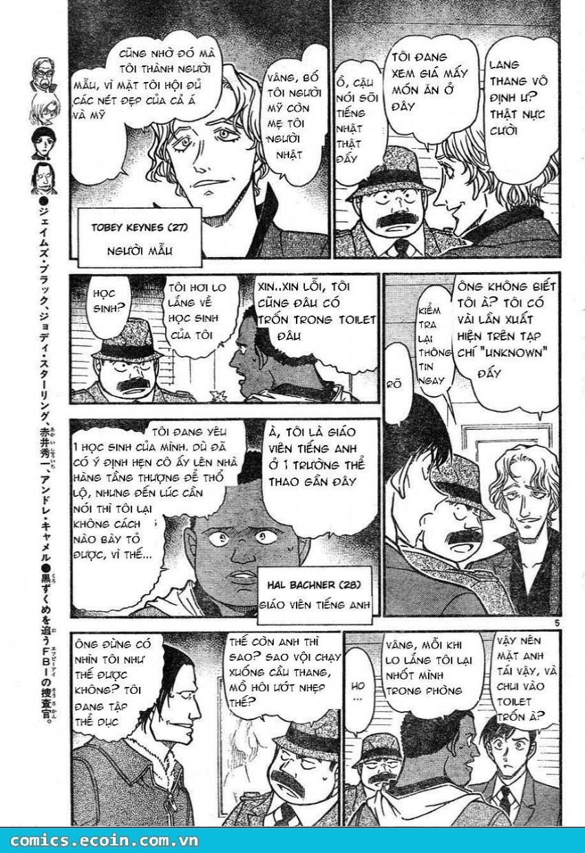 Detective Conan - Thám Tử Lừng Danh Conan chap 606 page 5 - IZTruyenTranh.com
