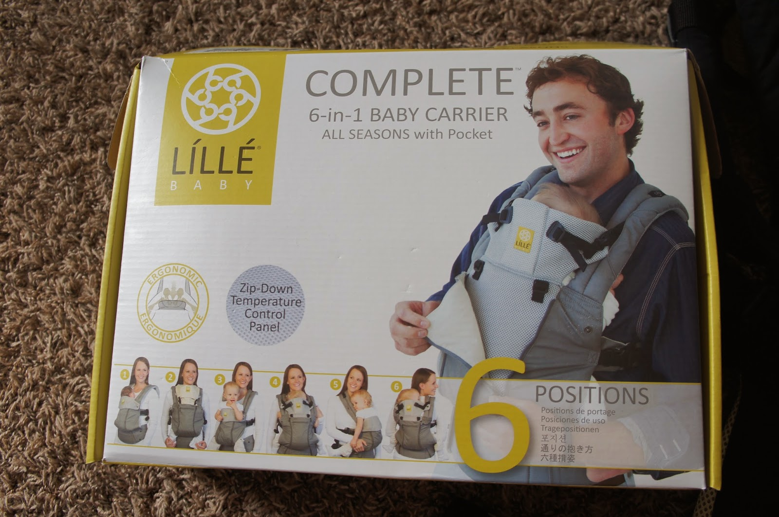 lillebaby complete all seasons manual