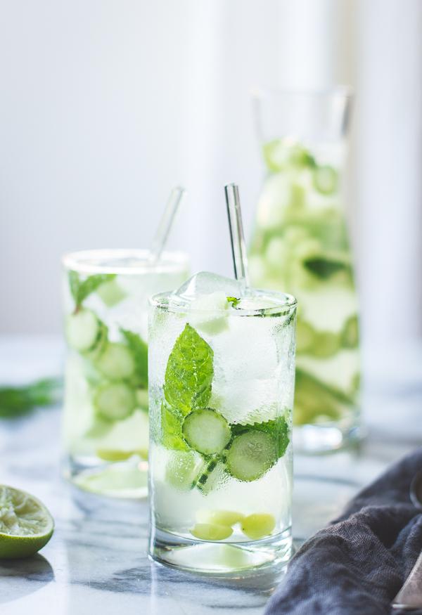 The Bojon Gourmet: Sangrìa Verde {Vinho Verde, Cucumber ...