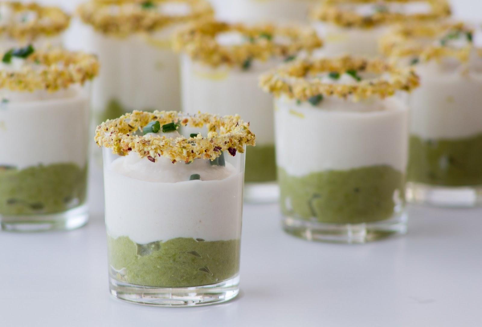 Las cosas de c sima chupito de crema de esp rragos verdes - Platos sencillos para sorprender ...