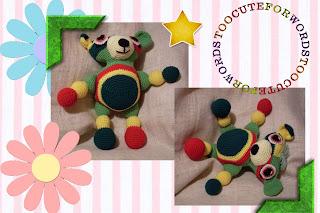 yarnie the funmigurumi moochie kanoochie bear pattern