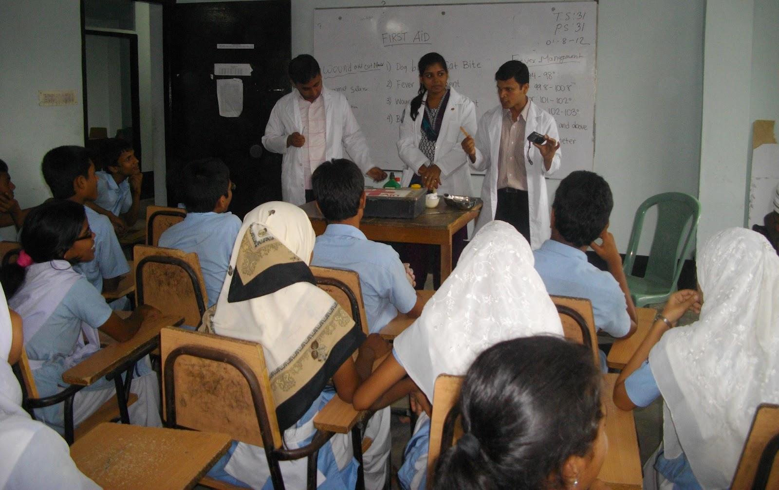 The Dhaka Project Awareness Program At School