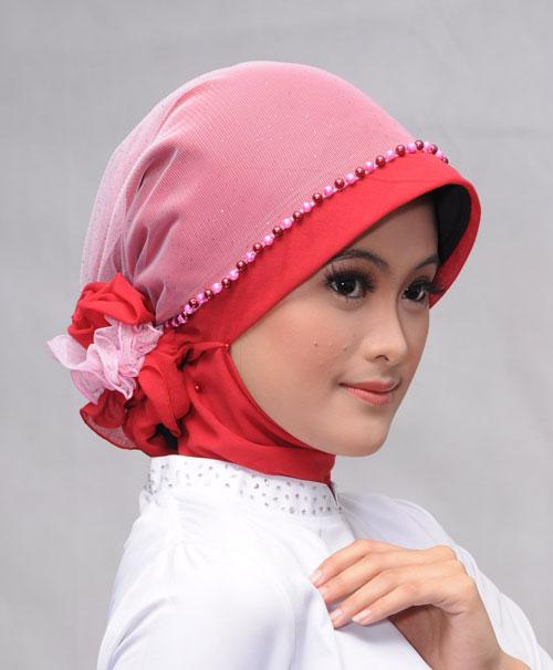 Kreasi Jilbab Untuk Wisuda Atau Pesta