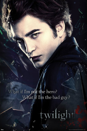 Robert Pattinson Poster on Robert Pattinson As Edward Poster Jpg