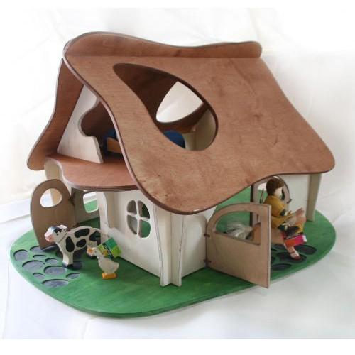 Как сделать домик на дереве из картона