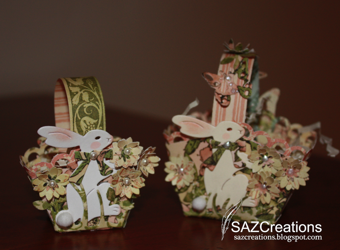 creations by saz  easter table decorations  as you can see