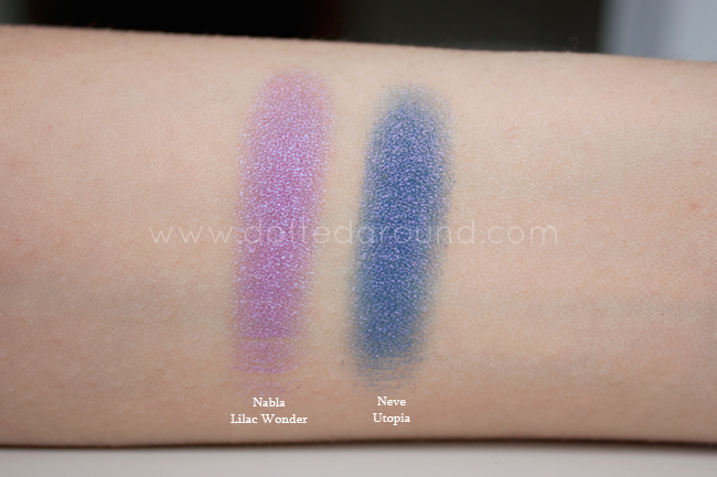Nabla lilac wonder swatch