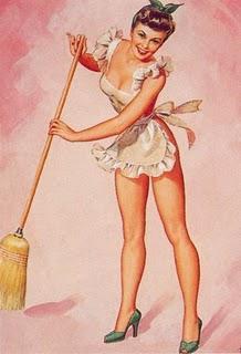 Vintage housework sexy