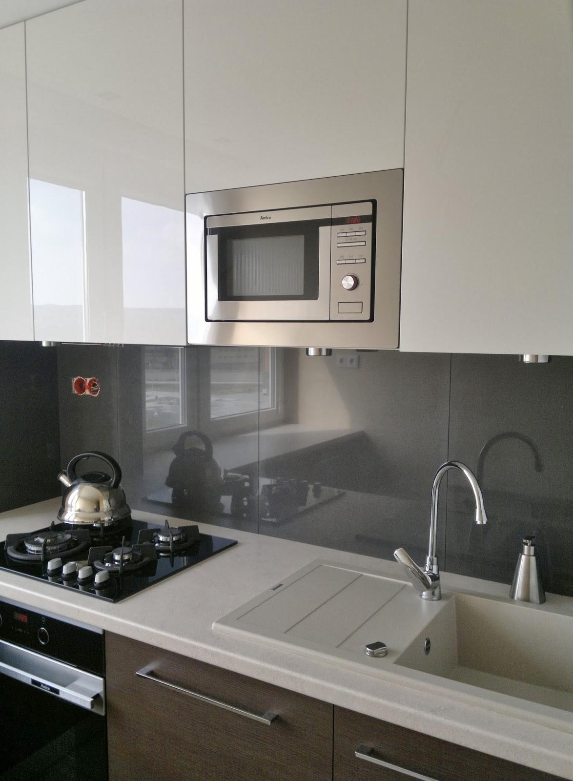 BENO Mała kuchnia -> Kuchnia Do Zabudowy Z Plytą Gazową Na Szkle