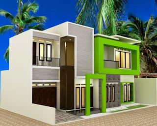 model rumah minimalis atap cor