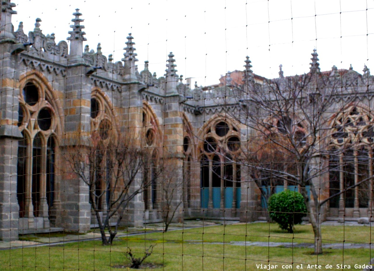 Claustro catedral Ávila