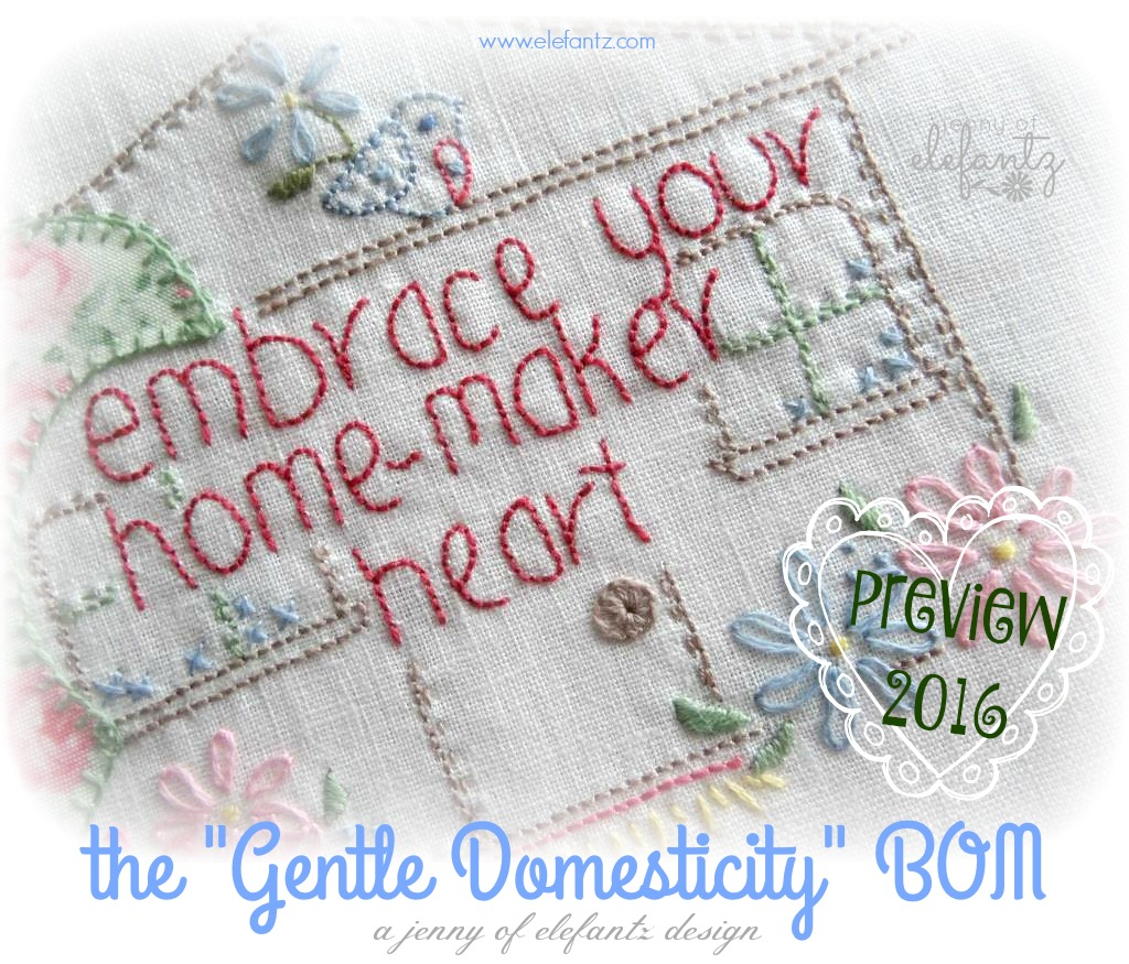 "the ""Gentle Domesticity"" BOM"