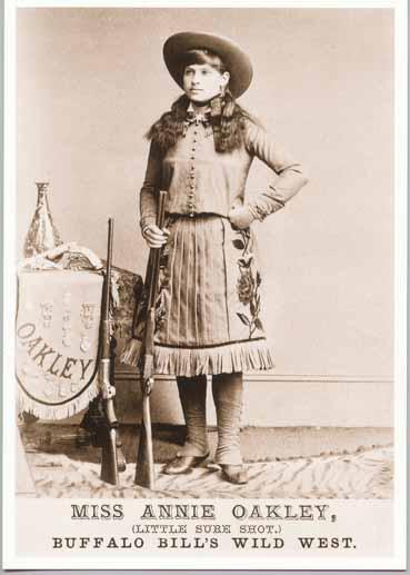Annie Oakley Childhood