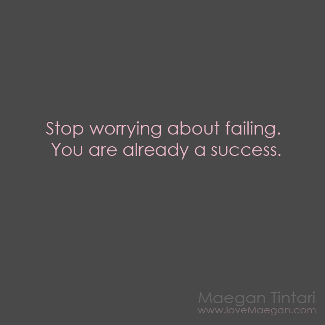 success quote, failing quote, inspirational quote