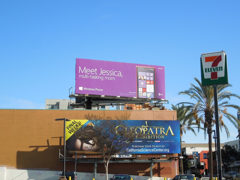 Meet Jessica Windows Phone billboard