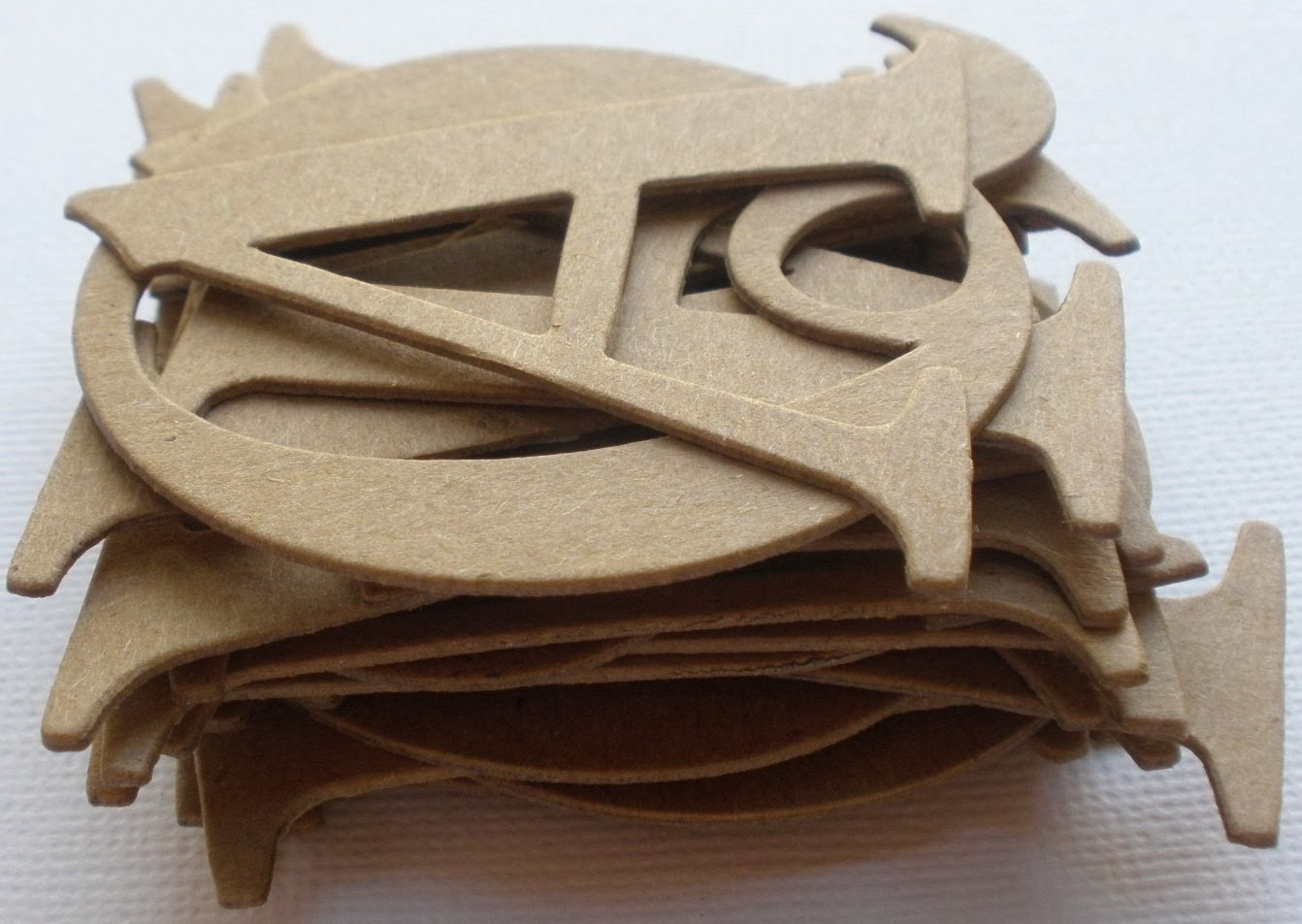 Muchocrafts monogram gift for decor for Where to buy chipboard letters