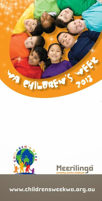 children;s week poster from WA