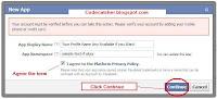 Security Facebook apps