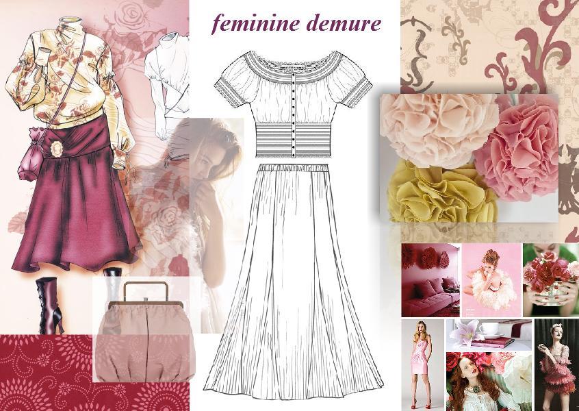 Moodboard Inspiration Fashion Design Inspirational