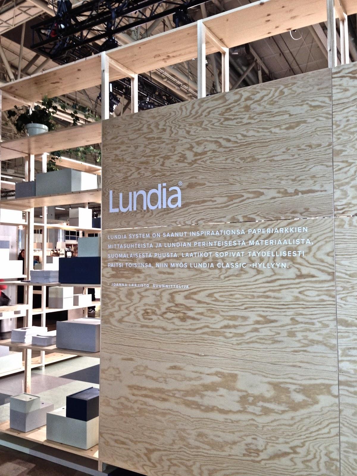 Habitare, 2014, Lundiasystem, Lundia