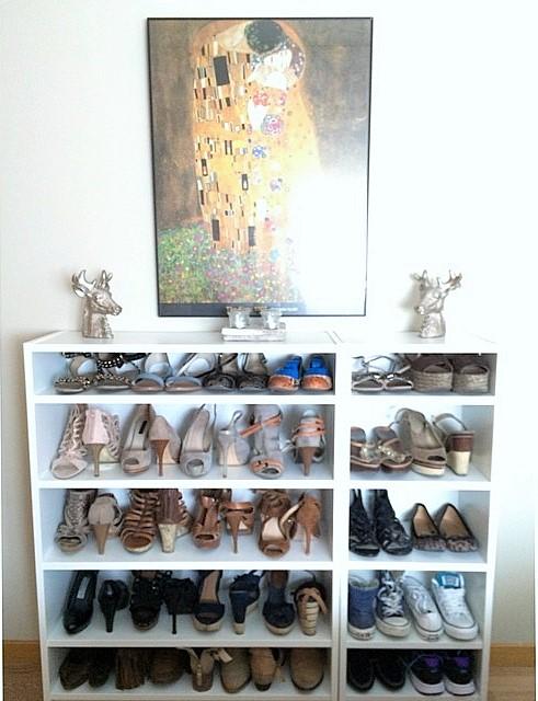 C mo tengo organizados mis zapatos s l o a n e s t r e e t - Estanteria zapatero ikea ...