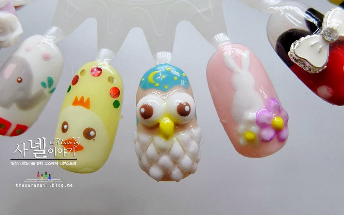SARA NAIL: SARA NAIL: CUTE nail designs, cutest animal nail art