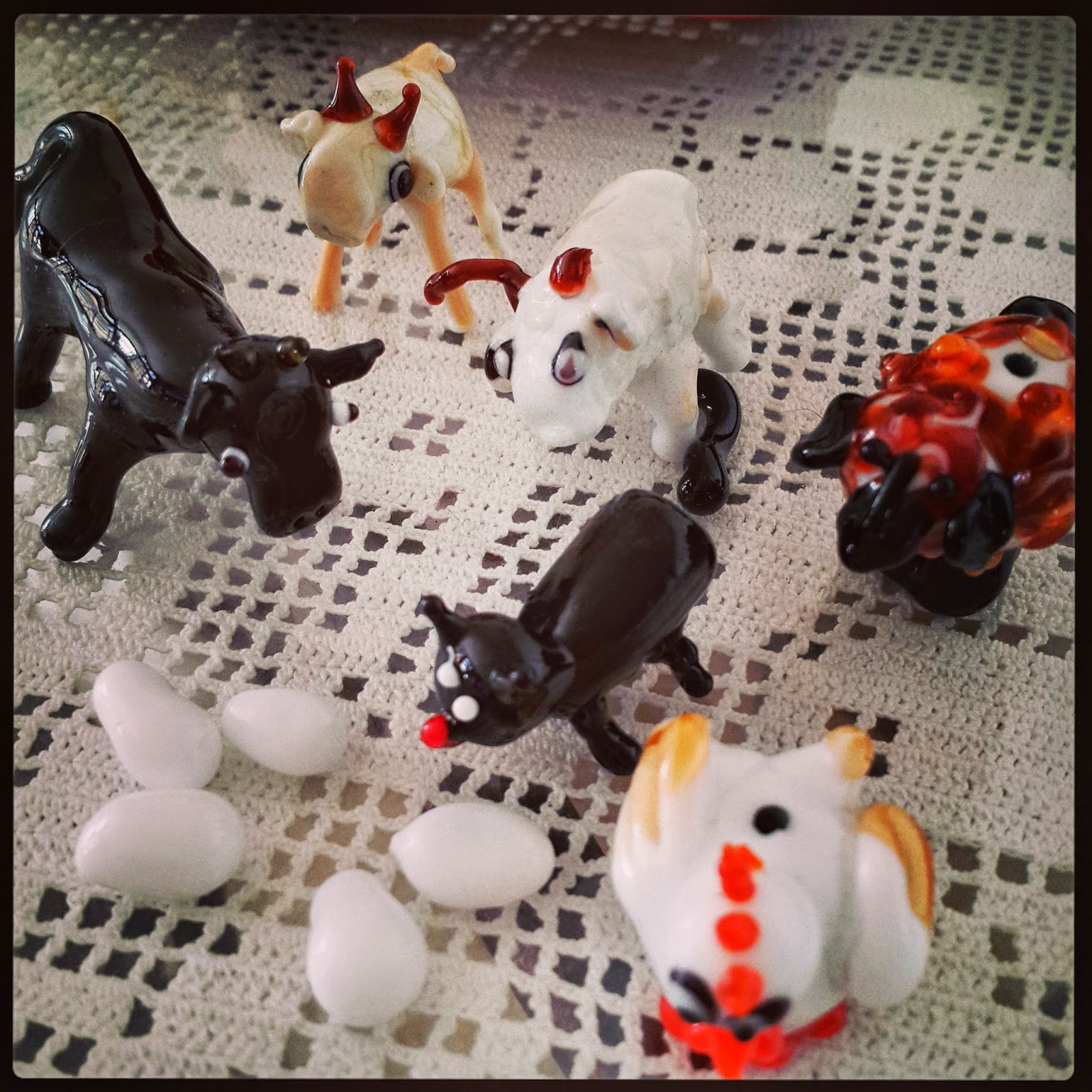 camdan hayvanlar