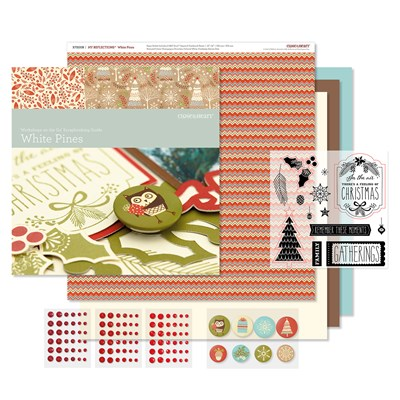Workshops on the Go® White Pines Scrapbooking Kit