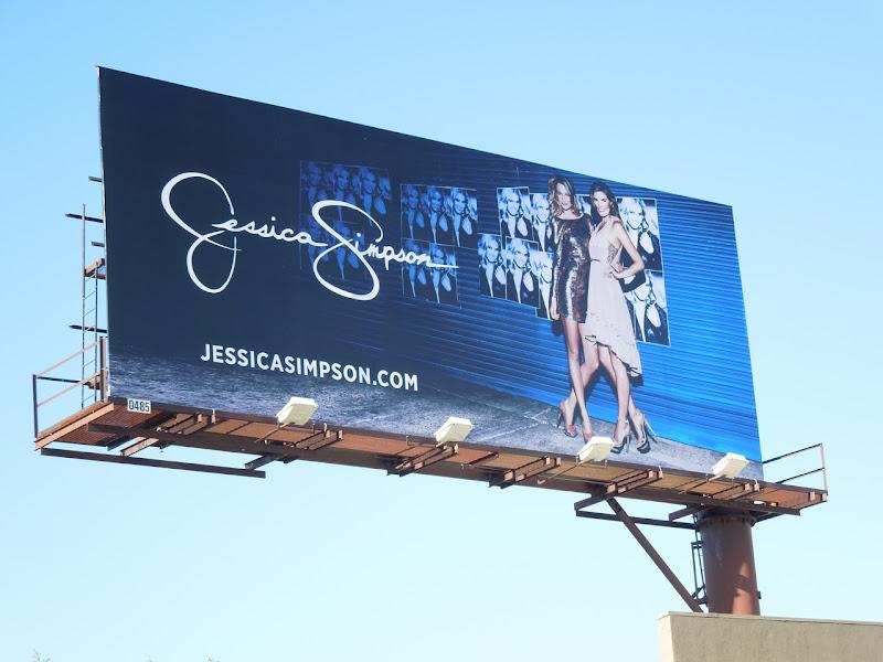 Jessica Simpson FW 2012 billboard