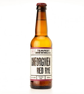 Unforgiven red rye ale by Tempest Brewing Co.