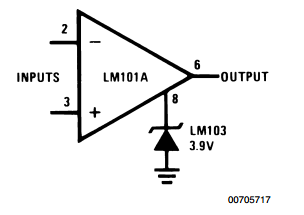 Voltage Comparator for Driving DTL or TTL Integrated Circuits