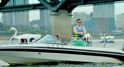 Psy Gangnam Style boat speedboat