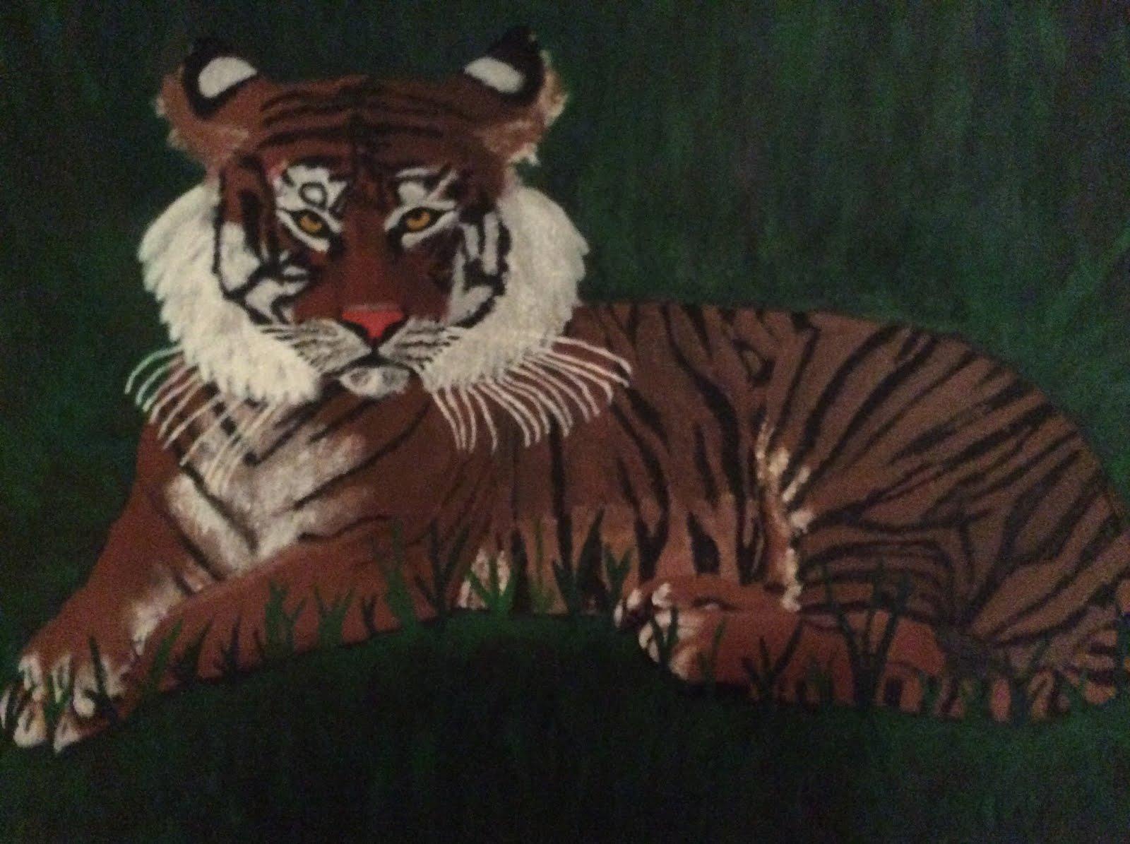 Jag tycker om tigrar