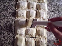 Pasteles-quitando exceso de harina