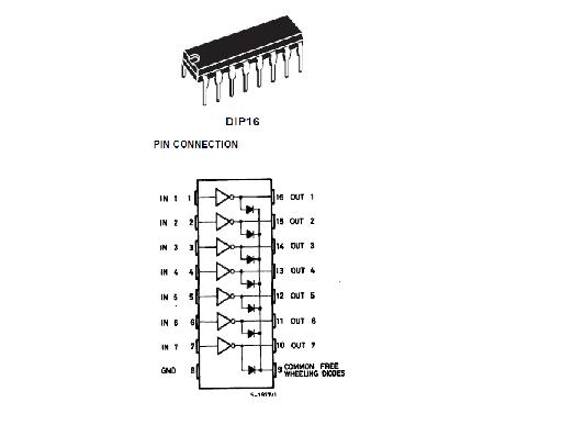 litar projek elektronik  litar pemacu transistor  led